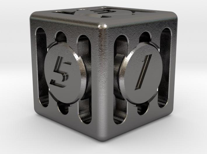 Dice - Gear Shift - D6 3d printed
