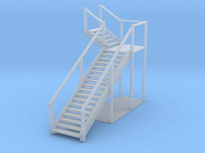 Bagby Hotel Stairs 3d printed