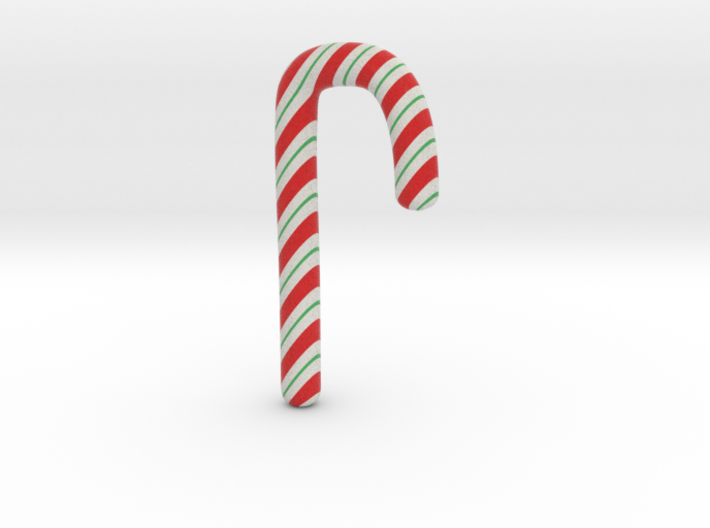 Candycane Small 3d printed