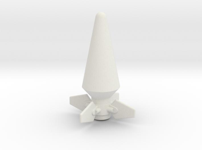 JK Rocket Top 3d printed