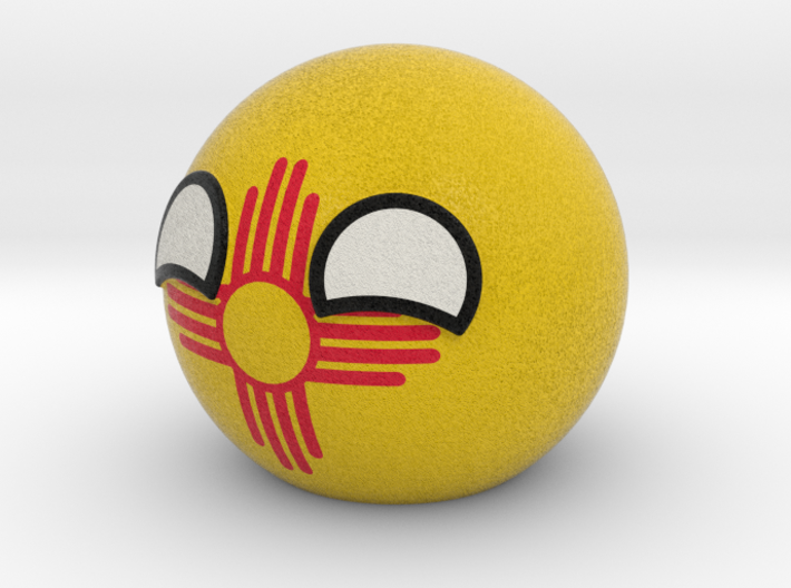 New Mexicoball 3d printed