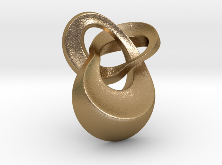 Knot 4 pendant 30mm 3d printed