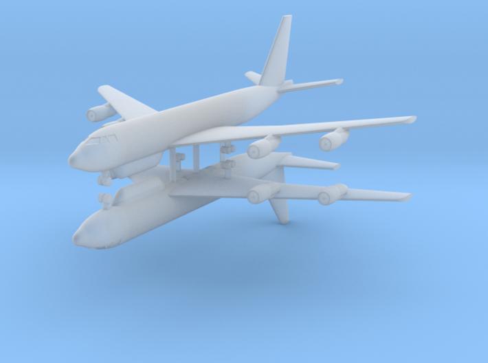 1/700 E-8C JSTARS (x2) 3d printed