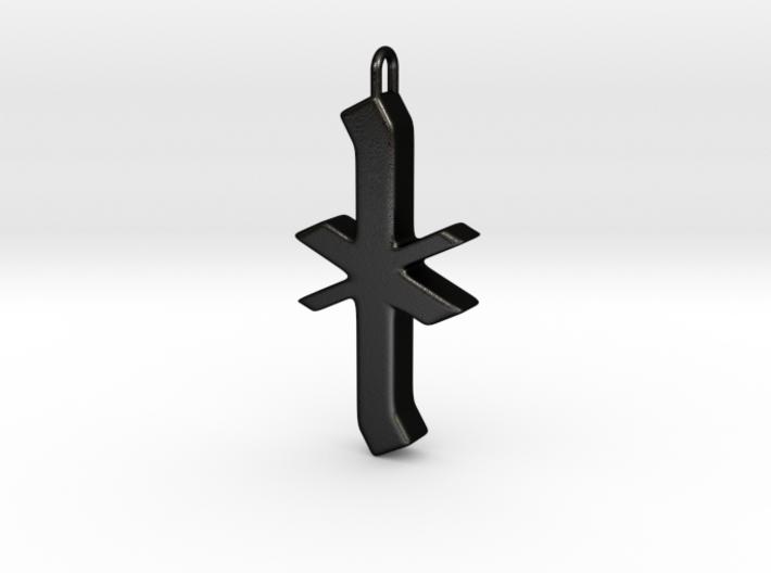 Rune Pendant - Īor 3d printed