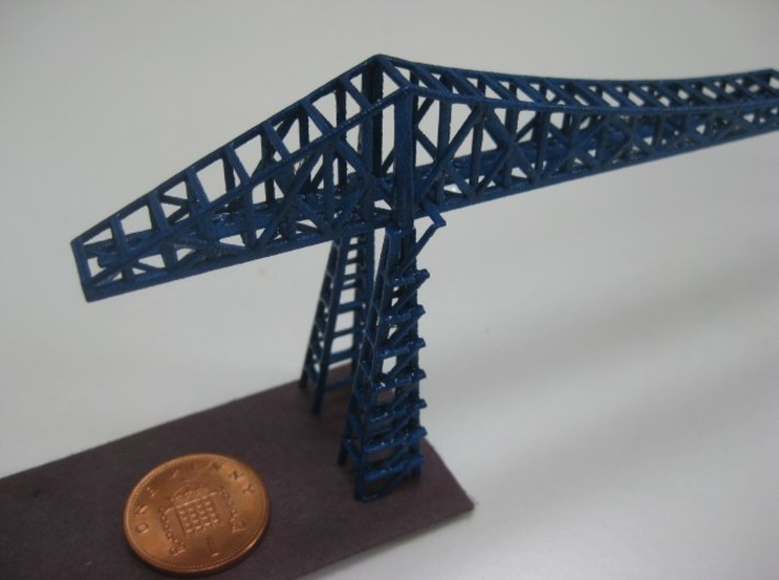 Tees Transporter Bridge 3d printed