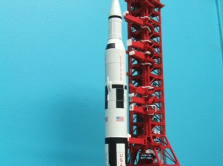 1/400 NASA LUT levels 0-2 (Launch Umbilical Tower) 3d printed