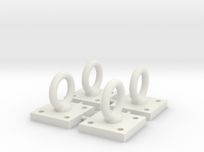 1:6 Scale Loop Bracket 004 3d printed