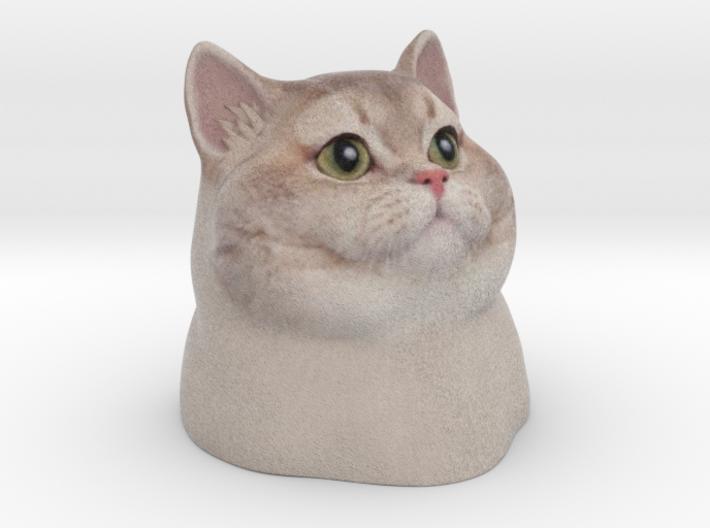 Heavy Breathing Cat 3d printed