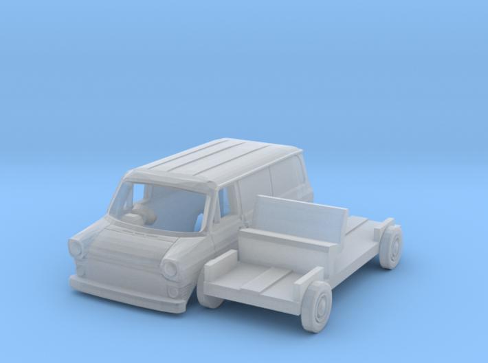 Ford Transit Van Mk1 (British N 1:148) 3d printed