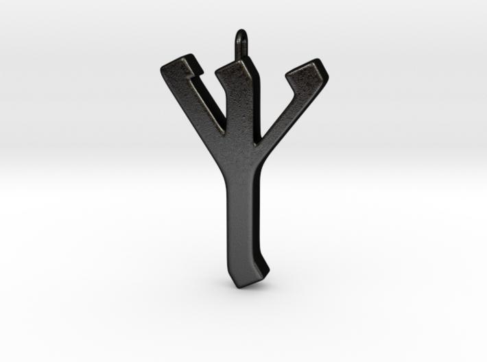 Rune Pendant - Eolh 3d printed