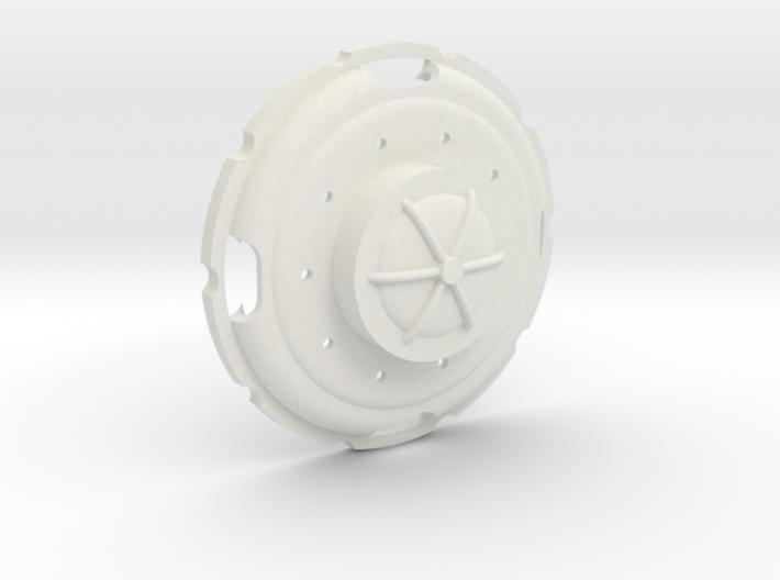 URAL Truck Rim Cover for Tamiya CR01 Beadlock 2.2 3d printed