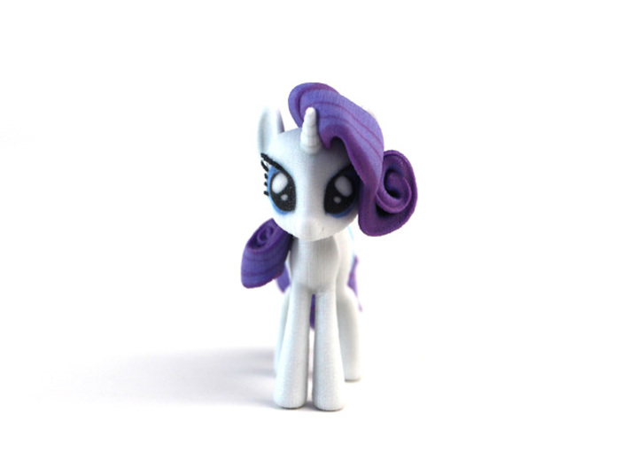 My Little Pony - Rarity (≈75mm tall) 3d printed