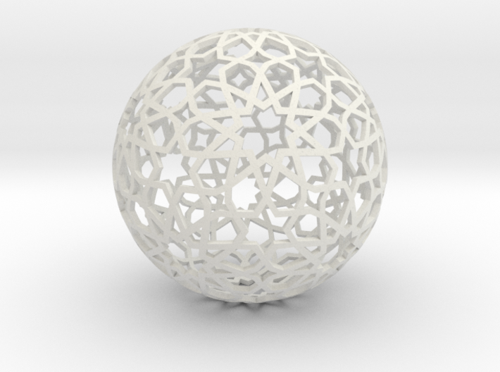 Great Rhombicosidodecahedron SMALL 3d printed