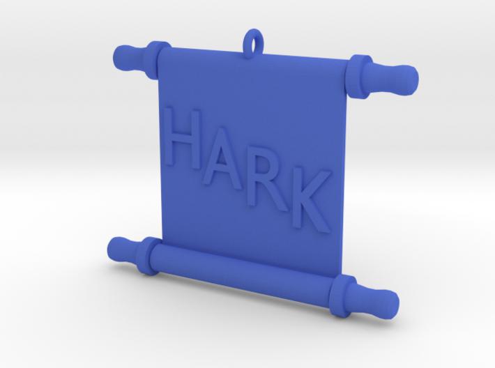 Ornament, Scroll, Hark 3d printed