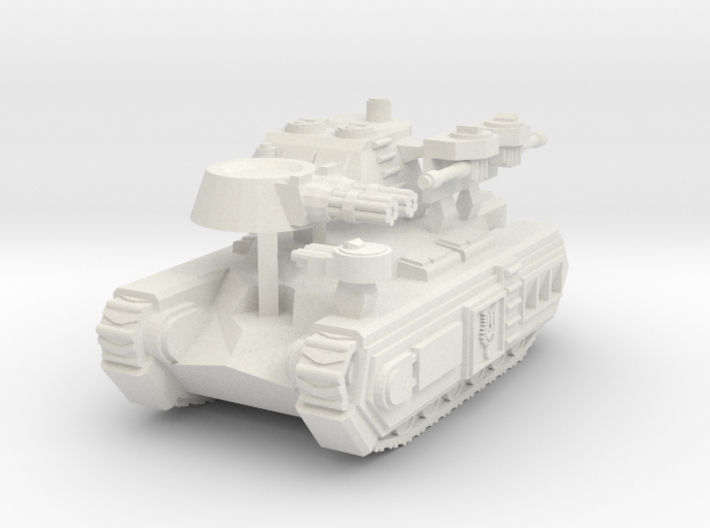 'Avalon' Superheavy Infantry Assault Vehicle 6mm s 3d printed