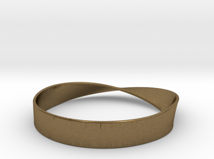 Möbius Bracelet Bangle 3d printed