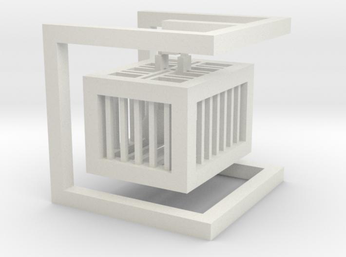 cube_04 3d printed