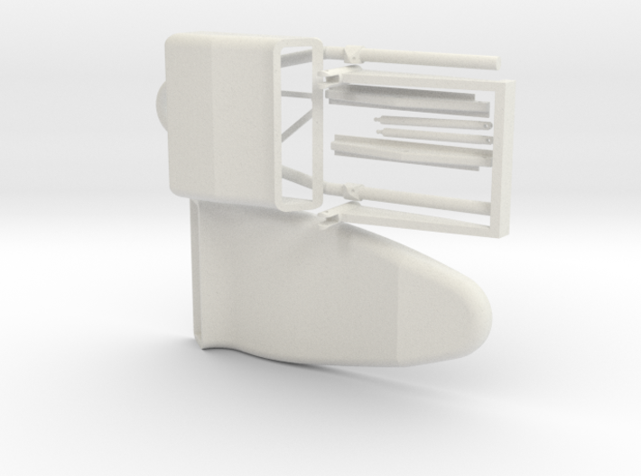 1:6 Scale RC model seat ( helicopter or airplane ) 3d printed