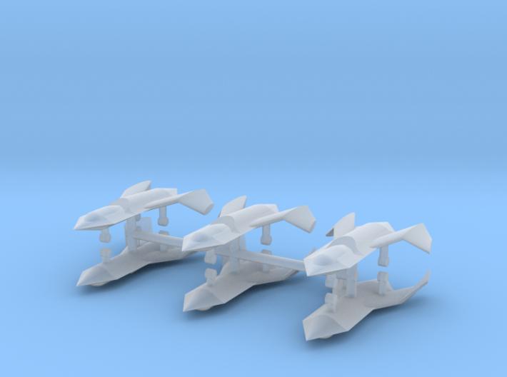 1/500 Boeing Bird of Prey (x6) 3d printed