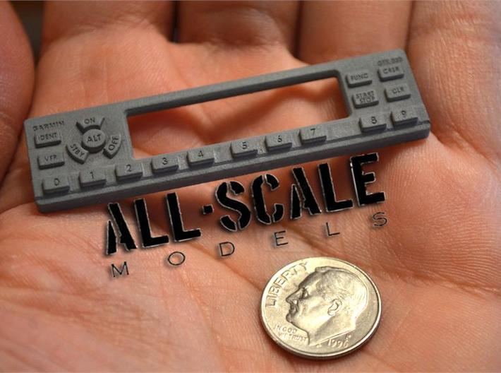 1:4 scale RC model instruments cockpit radios  3d printed
