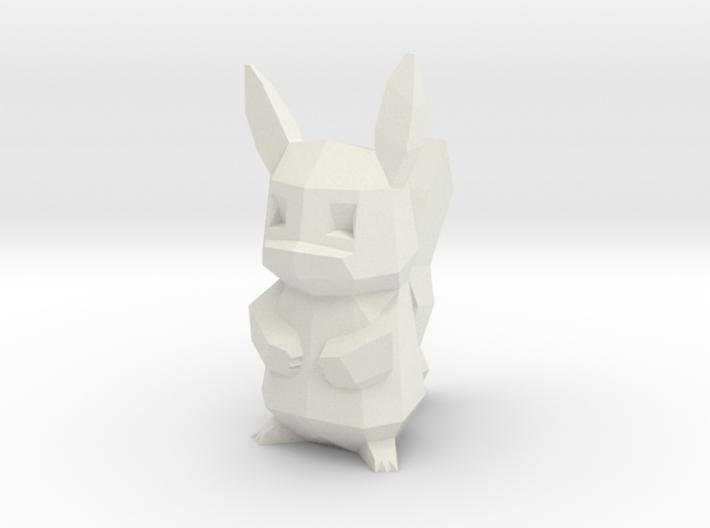 Pikachu 3d printed