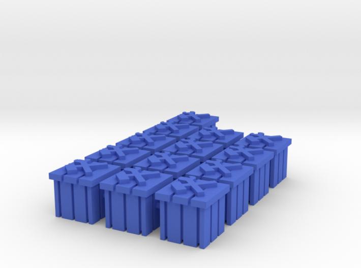 Crate tokens (13 pcs) 3d printed