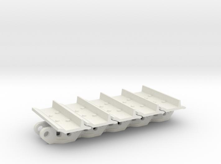 1:25 CAT D9T Track - 5 Links 3d printed