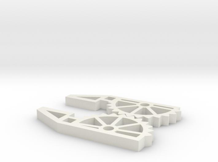 Skelatonized Robot Hand 3d printed