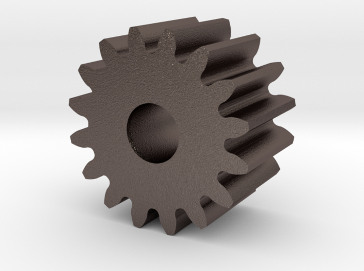 Spur Gear M1 Z16 3d printed