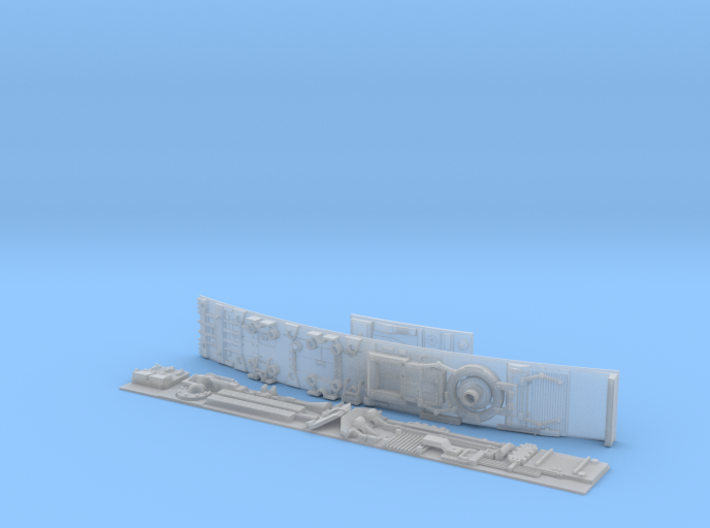 MILLENNIUM HSBRO SET SIDEWALL RIGHT 3d printed