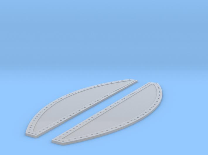 Apollo SM Heat Shield Panels 1:32 3d printed