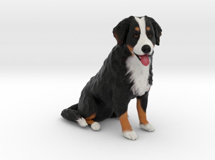Custom Dog Figurine - Choppy 3d printed