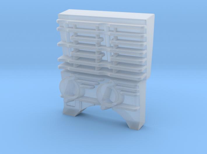 Biker Snout Engine 3d printed