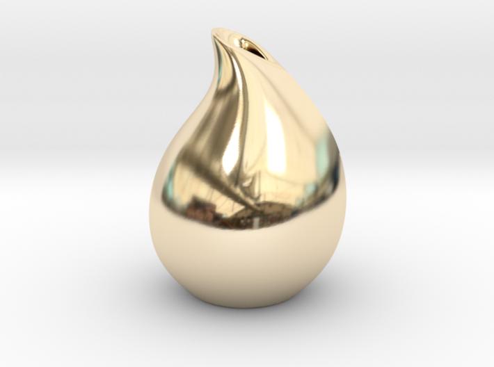 Droplet vase 3d printed