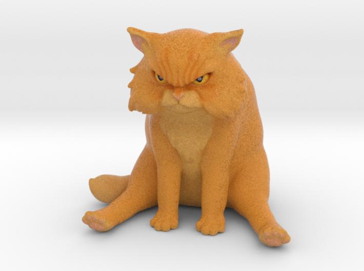 Garfi - The angry cat 3d printed