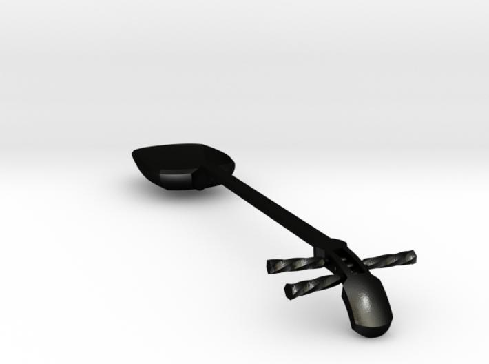 Tsugaru Shami-spoon Big 3d printed