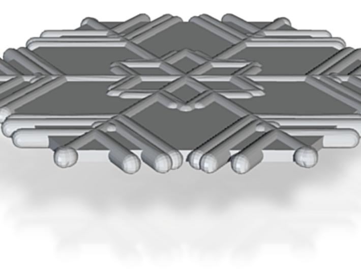 Snowflakes Series II: No. 11 3d printed