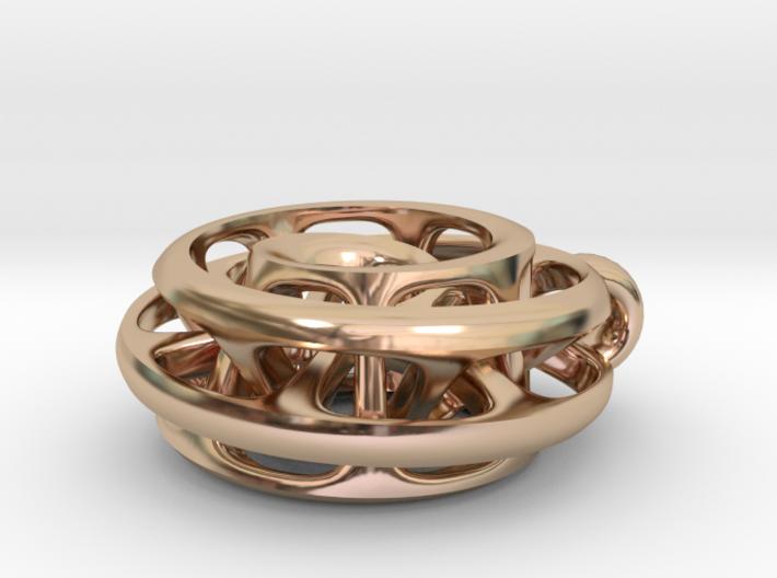 Moebius I, pendant 3d printed