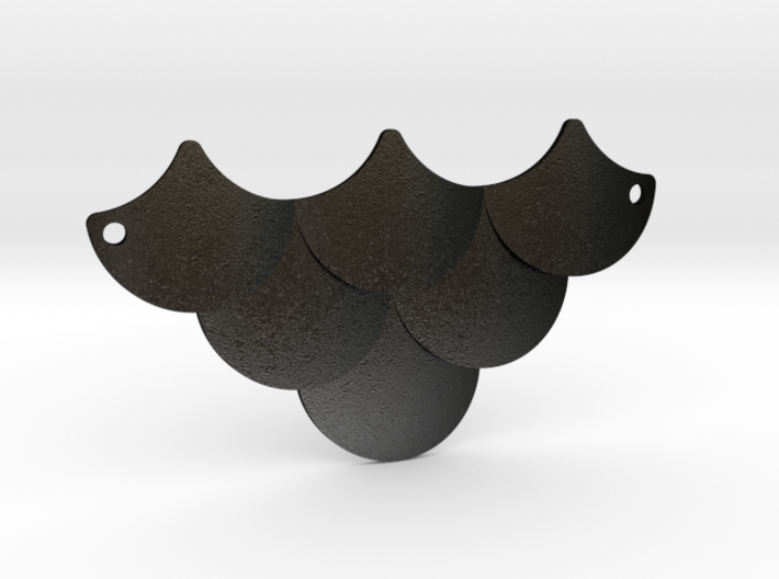 Scales Pendant 3d printed
