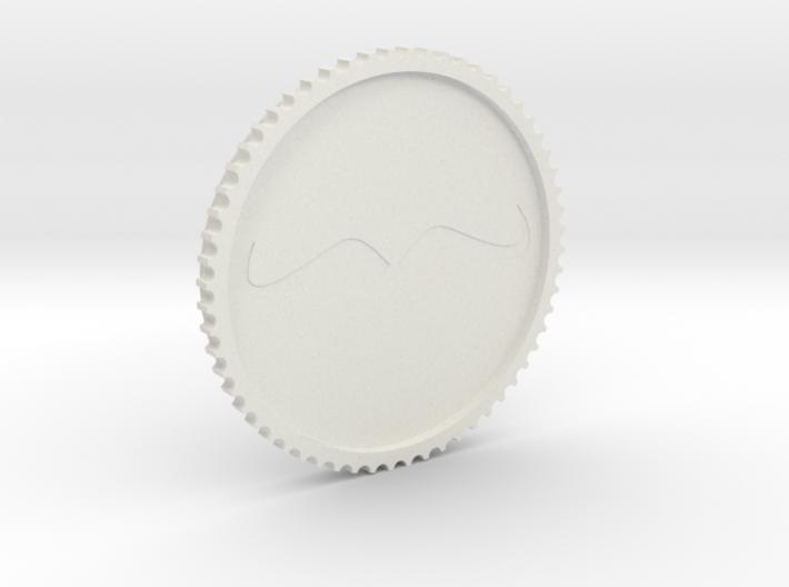 Schnurrbart Mustache Lens Cap 53mm/58mm 3d printed