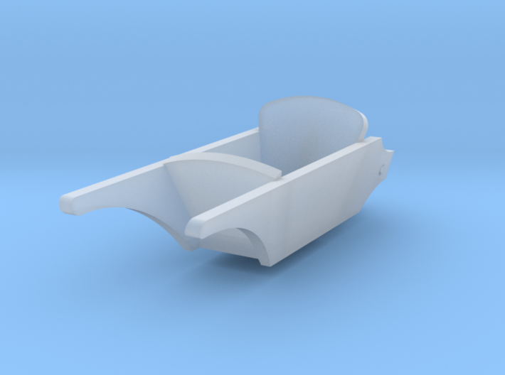 1/56th (28mm) scale wheelbarrow 3d printed