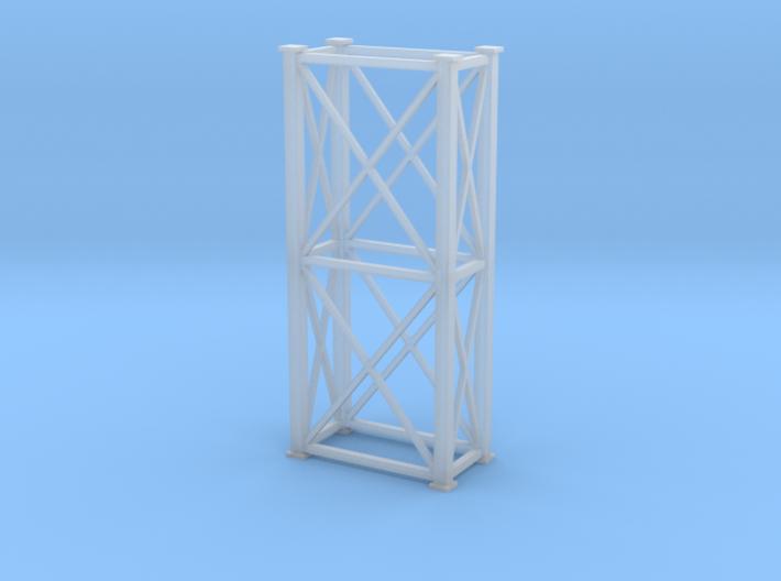 'N Scale' - 4'x8'x20' Tower 3d printed