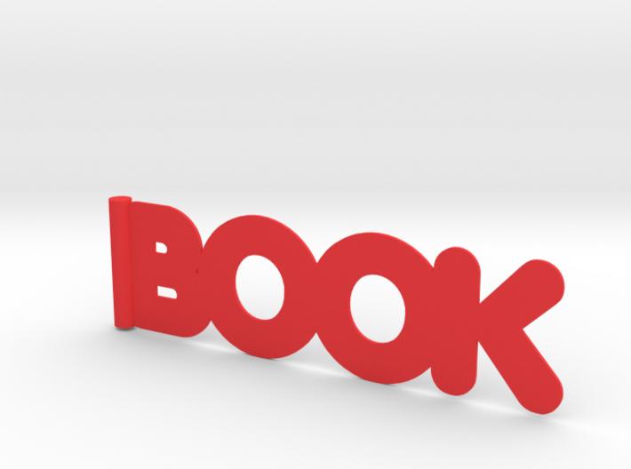 BOOK bookmark 3d printed