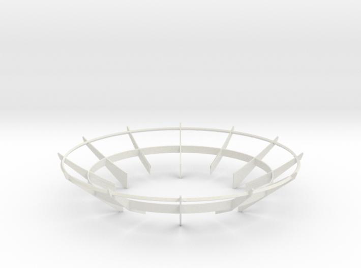 Cassini 1/20th Main Dish Antenna Ribs 3d printed
