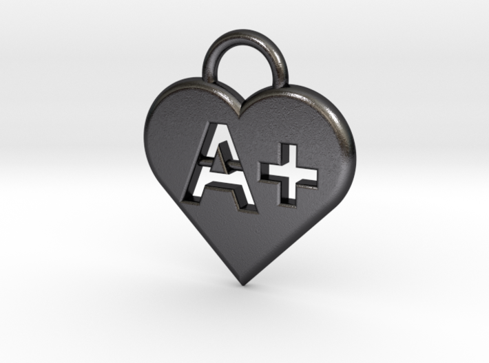 Blood type keychain [customizable] 3d printed