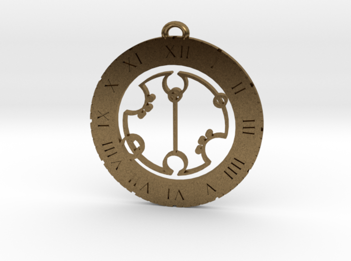 Gregory - Pendant 3d printed