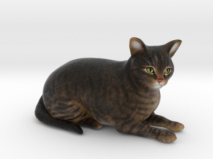 Custom Cat Figurine - Mowgli 3d printed