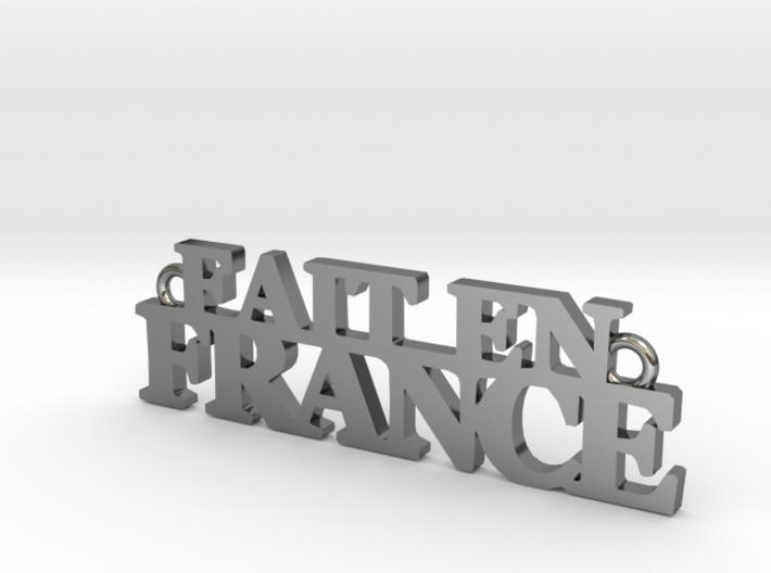 Fait en FRANCE Pendant 3d printed