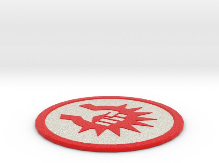 Boros Coaster 3d printed