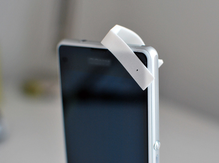 350X Smartphone/Tablet Microscope Attachment 3d printed